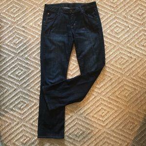 Hudson Dark Wash Mid Rise Jeans Size 30